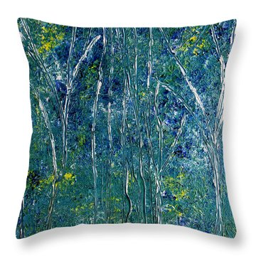 After Monet Throw Pillow by Dolores  Deal