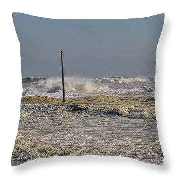 After Storm Sandi Throw Pillow by Deborah Benoit