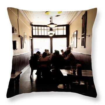After Sunday Services Throw Pillow