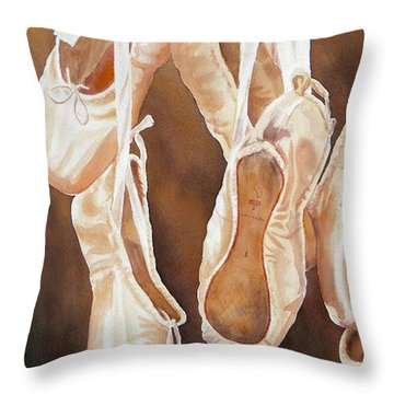 After The Dance Sold Prints Available Throw Pillow