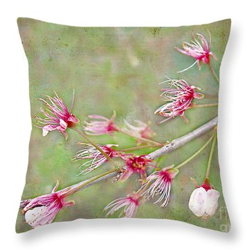 After The Party's Over Throw Pillow by Judi Bagwell