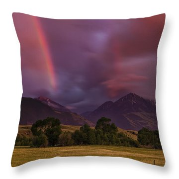 After The Storm Throw Pillow by Andrew Soundarajan