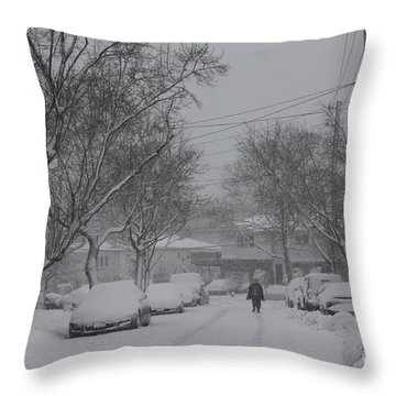 Throw Pillow featuring the photograph After The Storm by Dora Sofia Caputo Photographic Art and Design