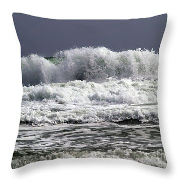 Aftermath Of A Storm Iv Throw Pillow