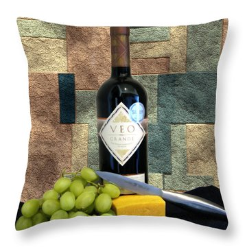 Afternoon Delights Throw Pillow by Kurt Van Wagner
