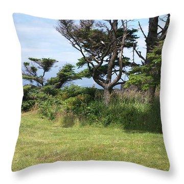 Afternoon Magic Throw Pillow
