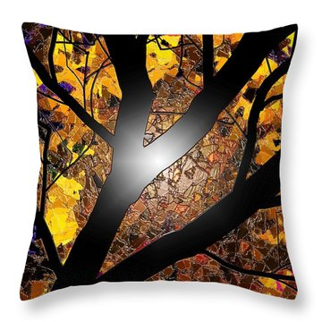 Throw Pillow featuring the painting Ahh Wax by Steven Lebron Langston