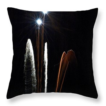 Air Fire One Throw Pillow