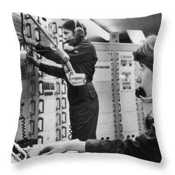 Air Force Crew, 1978 Throw Pillow by Granger