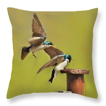Air Traffic Control Required Throw Pillow