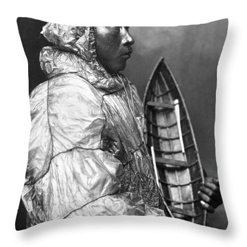Alaska: Eskimo Throw Pillow by Granger