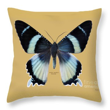 Alcides Agathyus Butterfly Throw Pillow