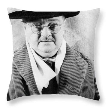 Alexander Woollcott Throw Pillow by Granger