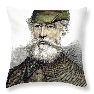 Alfred Krupp (1812-1887) Throw Pillow by Granger