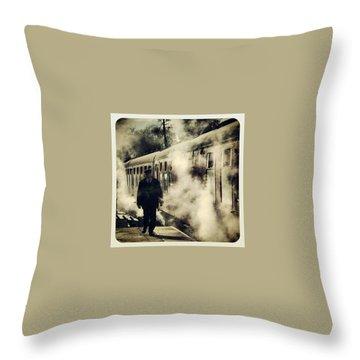 Steam Throw Pillows
