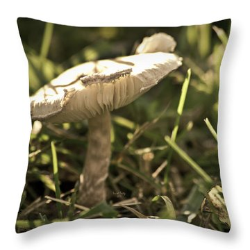 All Alone In The Jungle Throw Pillow