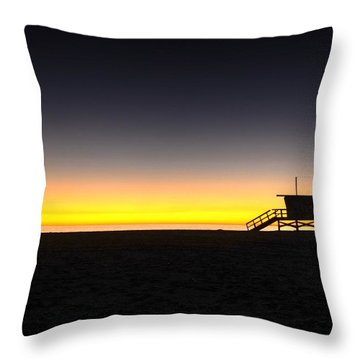 All Along The Guardtower Throw Pillow