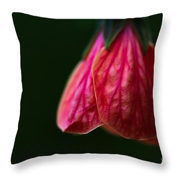 All In Vein Throw Pillow