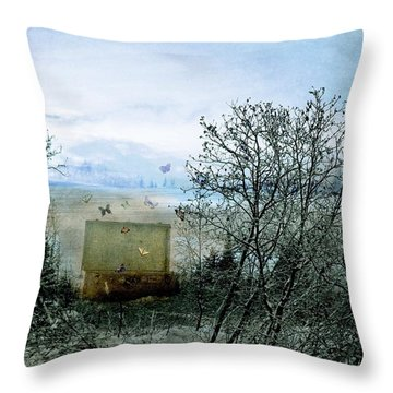All My Precious Secrets Throw Pillow by Michele Cornelius