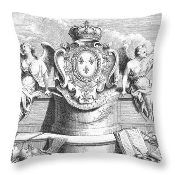 Allegory: Fame Throw Pillow by Granger