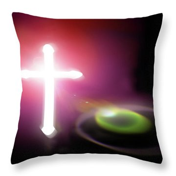 Almighty Throw Pillow by Richard Piper