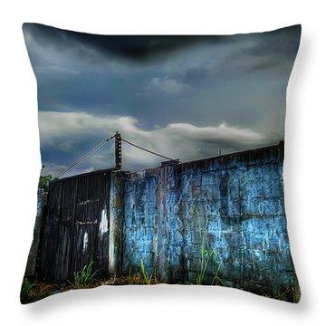 Almirante Throw Pillow by Dolly Sanchez