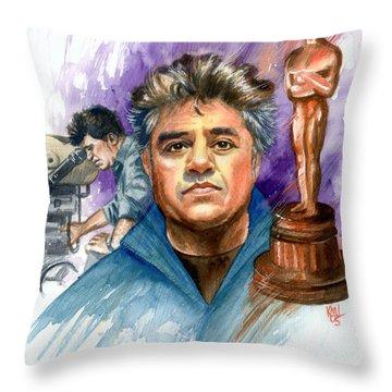 Almodovar Throw Pillow by Ken Meyer jr