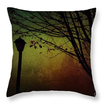 Almost Dark Throw Pillow by Billie-Jo Miller