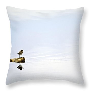 Alone - Just The Two Of Us Throw Pillow