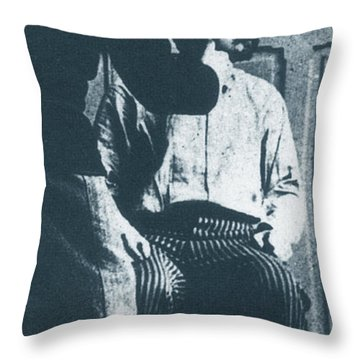 Alphonse Bertillon, French Biometrician Throw Pillow by Science Source