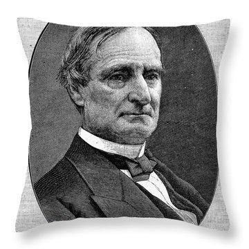 Alphonso Taft (1810-1891) Throw Pillow by Granger