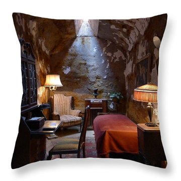 Throw Pillow featuring the photograph Al's Place II by Richard Reeve