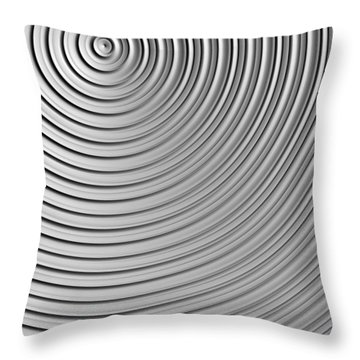 Also Not A Spiral Throw Pillow