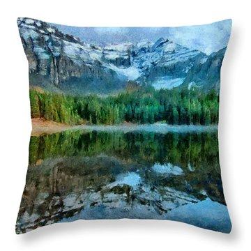 Alta Lakes Reflection Throw Pillow