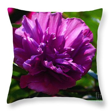 Althea II Throw Pillow by Patricia Griffin Brett