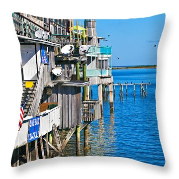Always Blue - Cedar Key Throw Pillow