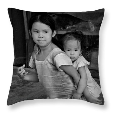 Always Together Throw Pillow by Valerie Rosen