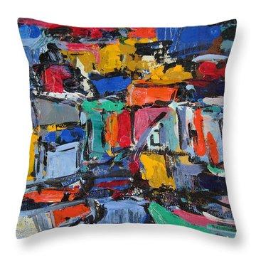 Amalfi 35 Throw Pillow