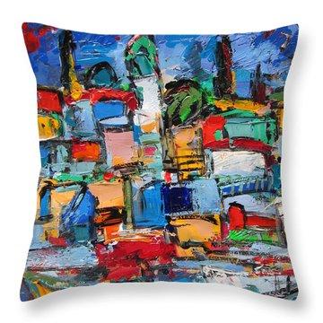 Amalfi 64 Throw Pillow