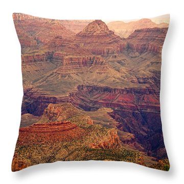 Amazing Colorful Spring Grand Canyon View Throw Pillow by James BO  Insogna