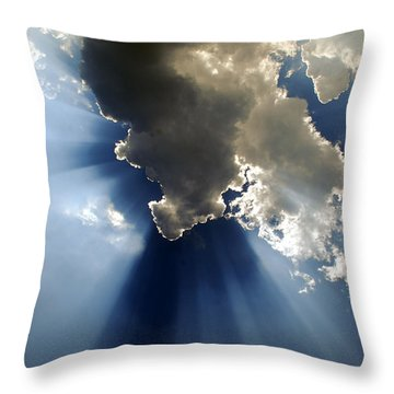 Amazing Grace Throw Pillow by Skip Willits