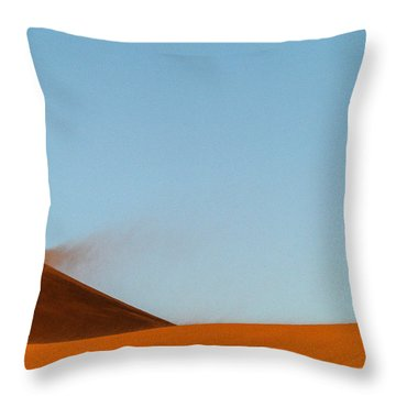 Amber Dust Throw Pillow