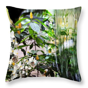 Ambiance Throw Pillow by Elizabeth Hart