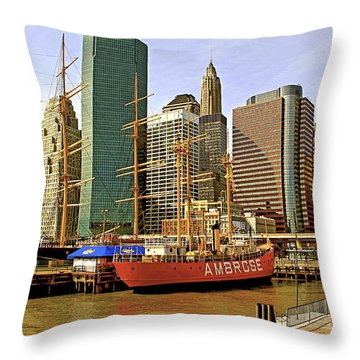 Throw Pillow featuring the photograph Ambrose by Alice Gipson