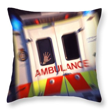 Ambulant Throw Pillow