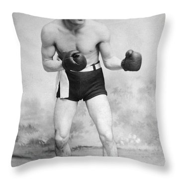 American Boxer, C1912 Throw Pillow by Granger