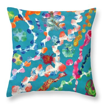 Amindra Throw Pillow by Sumit Mehndiratta
