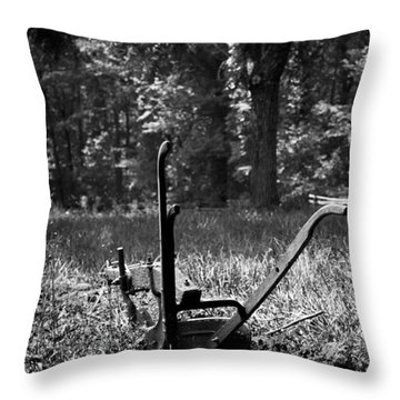 An Honest Day's Work Throw Pillow
