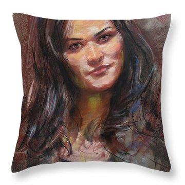 Ana 2012 Throw Pillow