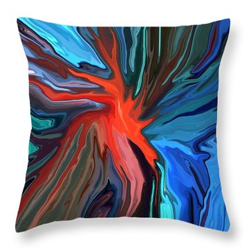 Anarchy Throw Pillow by Chris Butler